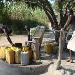 borehole at Mathangai - Rumbek (South Sudan)